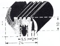 Gummidichtungen u profile scheibendichtungen uvm - Glasscheibe fur fenster ...